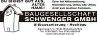 Logo der Firma: Baugesellschaft Schwenger GmbH
